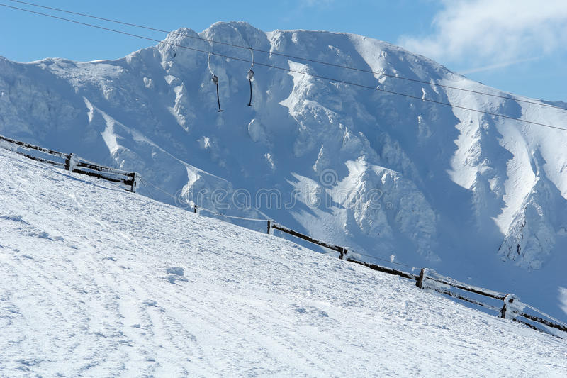 Download Mountain View. stockfoto. Bild von panorama, snowboard - 27735454