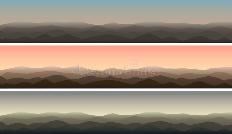 Mountain View stock de ilustración