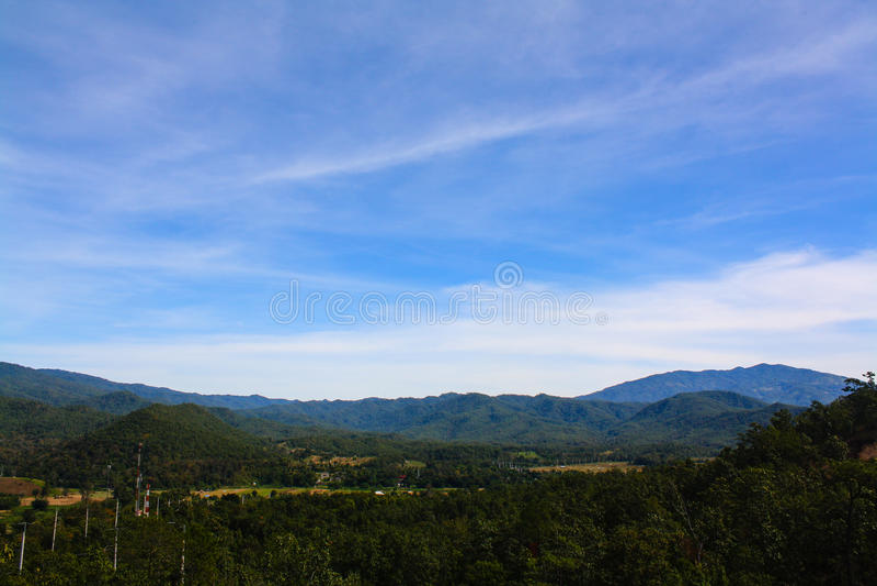 Mountain View lizenzfreie stockbilder