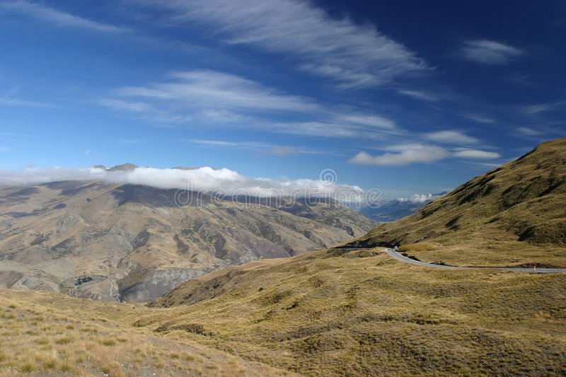 Mountain View imagem de stock royalty free