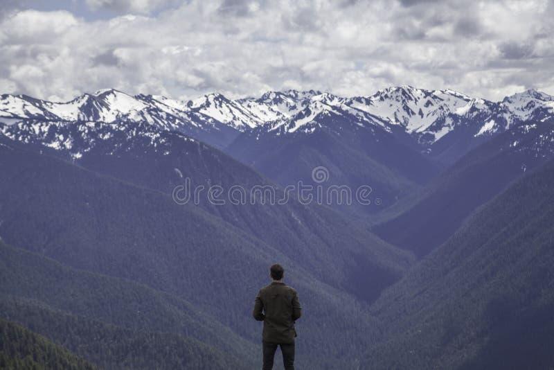 Mountain View fotografie stock