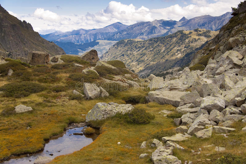 Mountain view - Andorra royalty free stock images