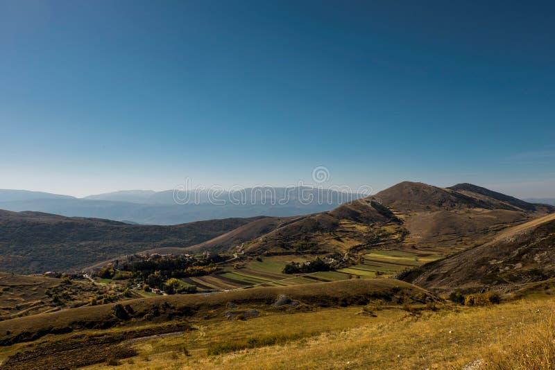 Mountain View automnal image libre de droits