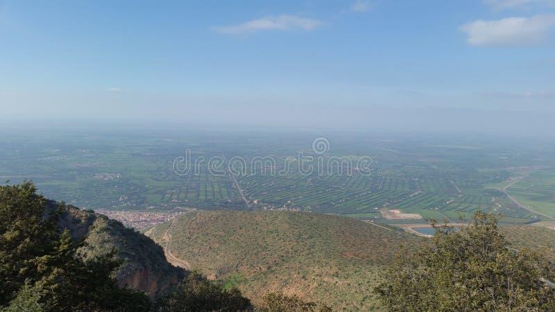Mountain view beni-mellal royalty free stock photos