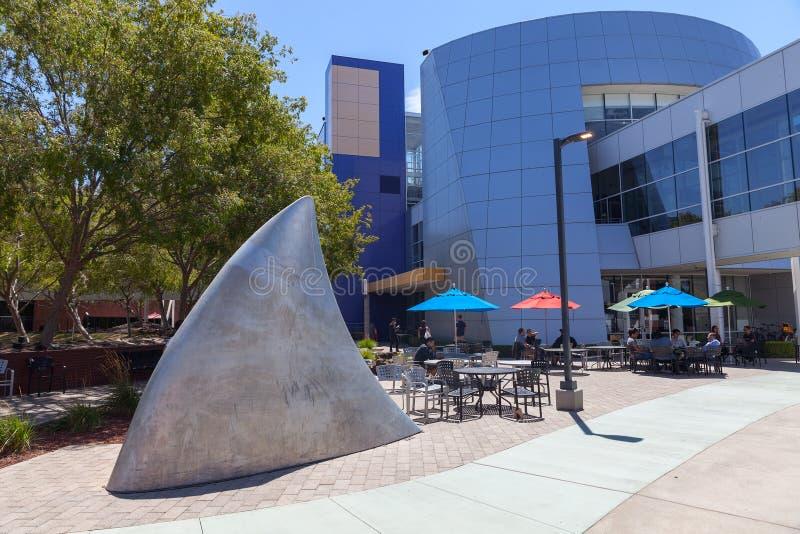 MOUNTAIN VIEW, CA, los E.E.U.U. - 14 de agosto de 2014: Vista exterior de Google fotos de archivo libres de regalías