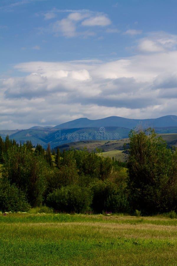 Mountain View, Creede, Colorado imagen de archivo