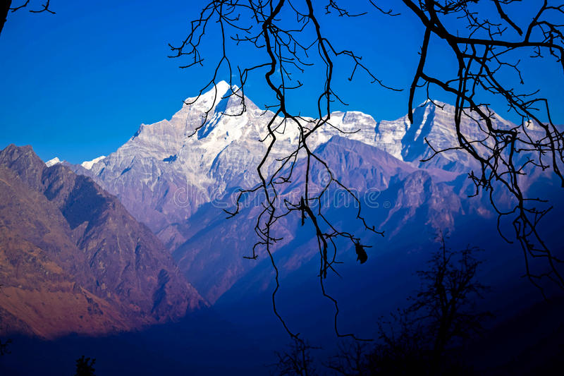 Mountain View d'Himalaya photos stock