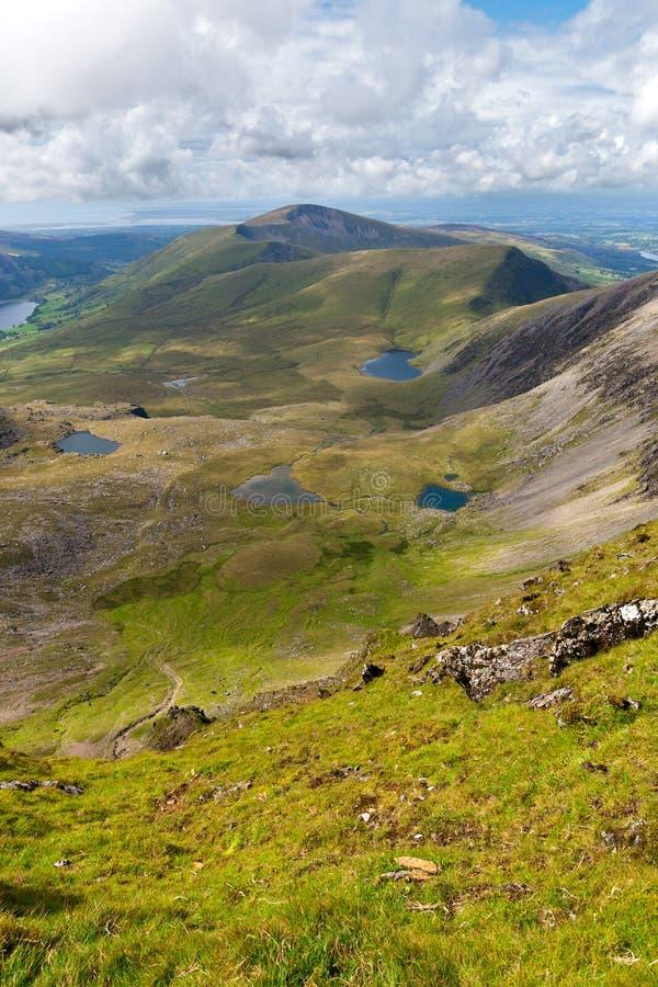 Mountain View da Snowdon immagine stock libera da diritti
