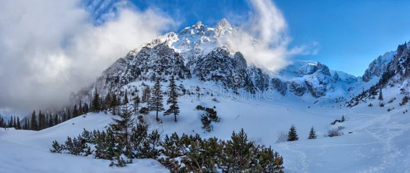 Mountain View de Bucegi imagem de stock royalty free