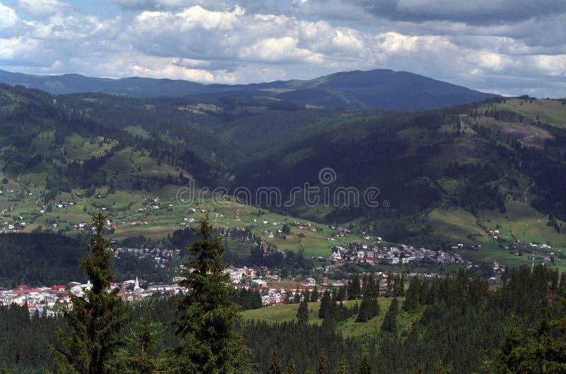 Mountain View de Giumalau fotos de stock royalty free