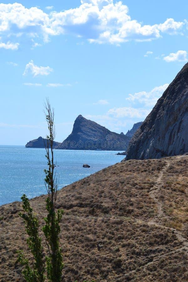 Mountain View in de Krim royalty-vrije stock fotografie