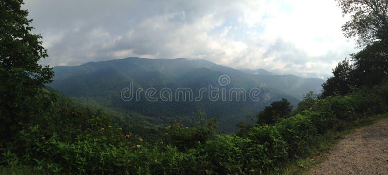 Mountain View de Smokey photographie stock libre de droits