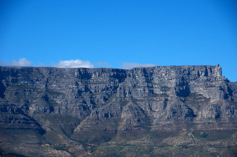 Mountain View de Tableau, Capetown Afrique du Sud photo stock