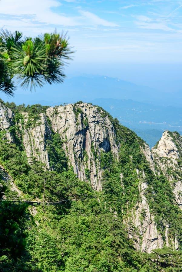 Mountain View de Tian TangZhai Scenic Spot images libres de droits