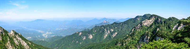 Mountain View de Tian TangZhai Scenic Spot photos stock