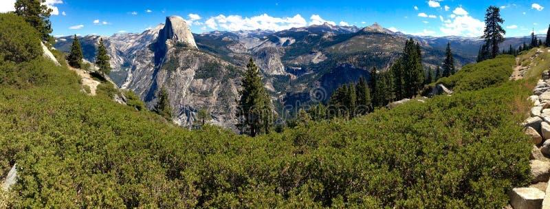 Mountain View del Yosemite fotografia stock libera da diritti