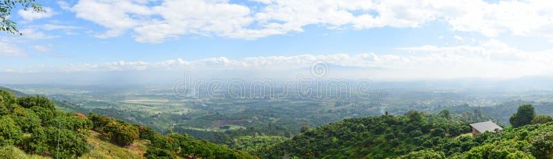 Mountain View en Thaïlande image stock