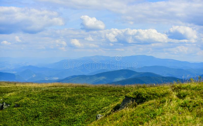 Mountain view. environmental protection. mountain landscape. traveling and hiking. beauty of nature. ecology situation royalty free stock photos