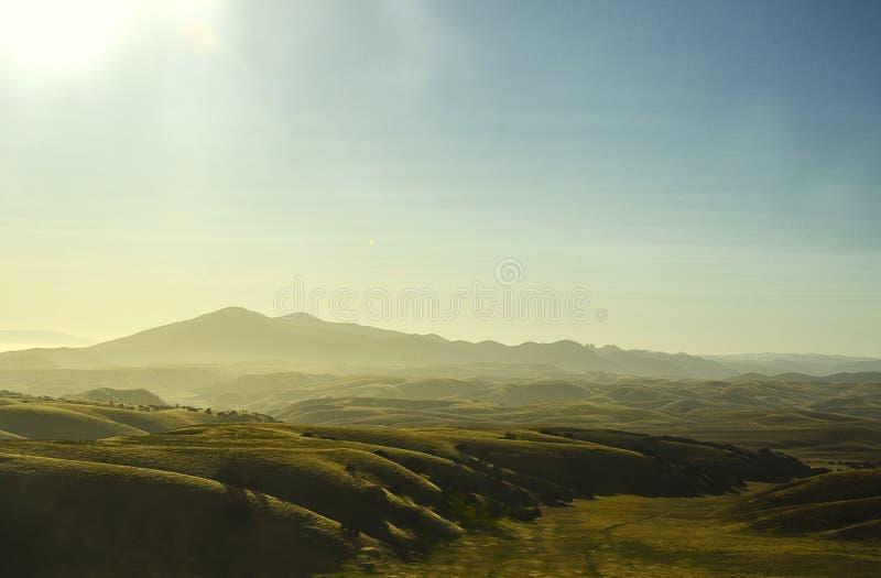 Mountain View esotico California contenuta fotografia stock