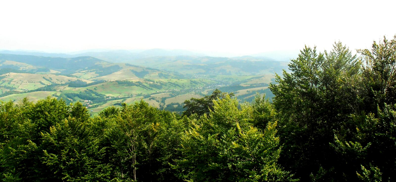 Mountain View hermoso imagenes de archivo