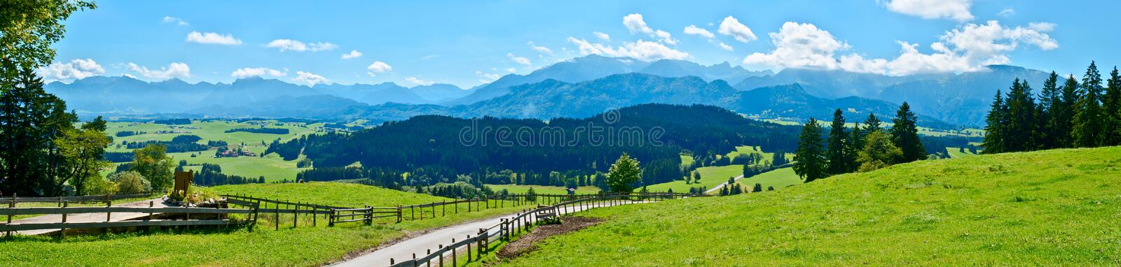 Mountain View l'Europe images stock