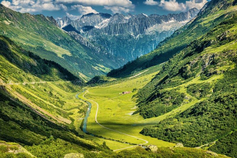 Mountain View maestoso fotografia stock libera da diritti
