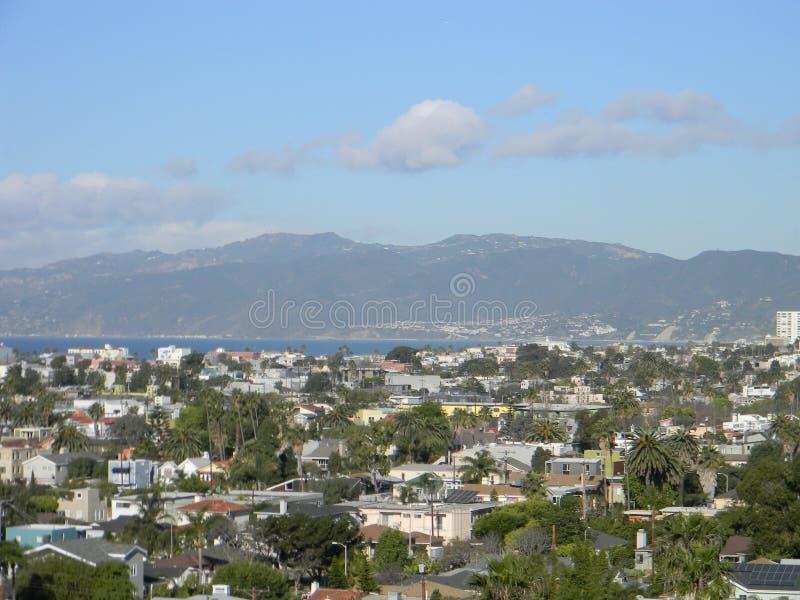 Mountain View in Marina del Rey stock fotografie