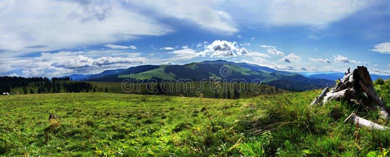 Mountain View panorámico imagen de archivo