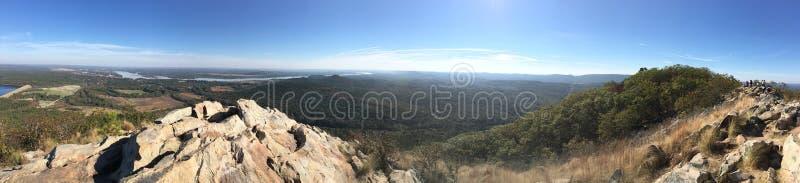Mountain View panorámico imagenes de archivo