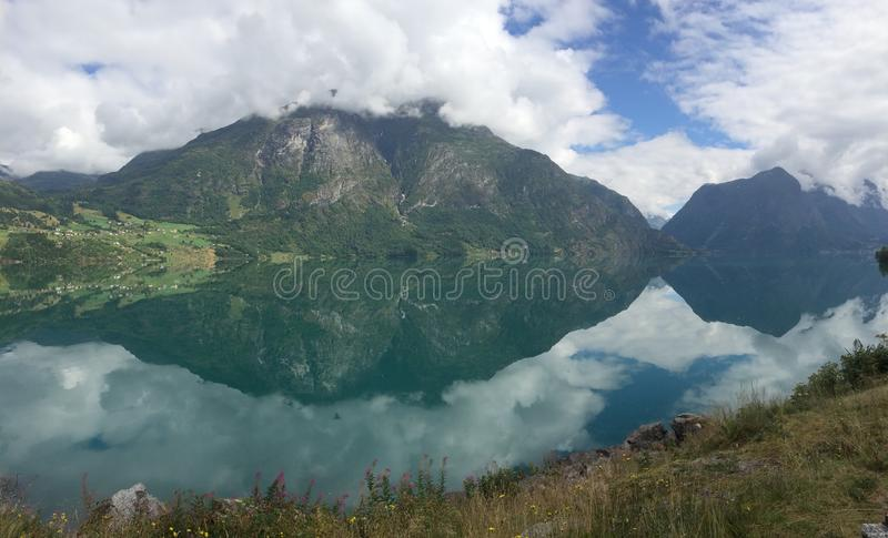 Mountain View royalty free stock photography