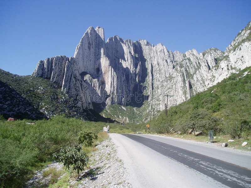 Mountain View rocheux photos libres de droits