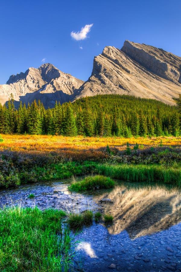 Mountain View scenici fotografie stock libere da diritti