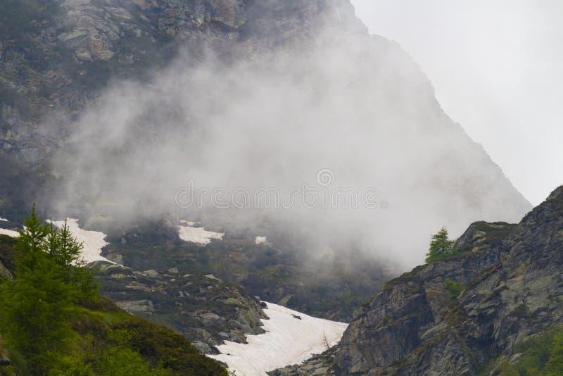 Mountain View suggestif images libres de droits
