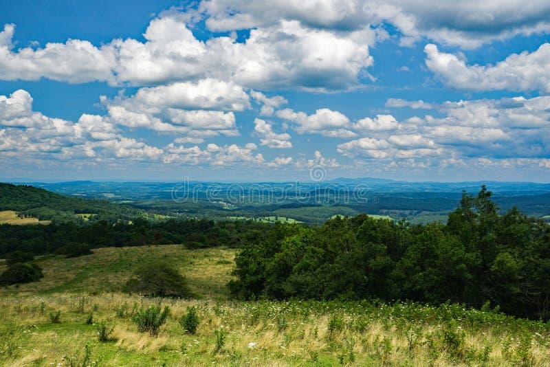 Mountain View van de Piemonte-Vallei royalty-vrije stock foto