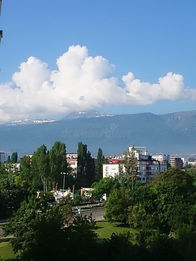 Mountain View Vitosha Sofía imágenes de archivo libres de regalías