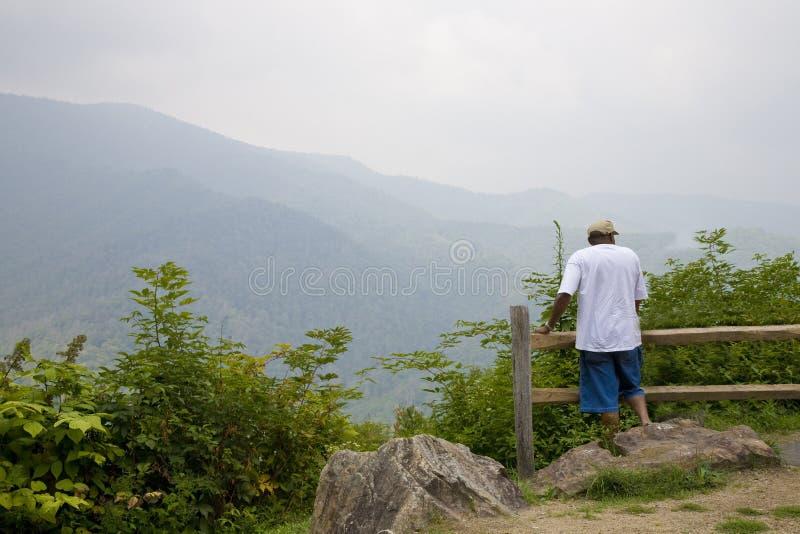 Mountain views stock photography