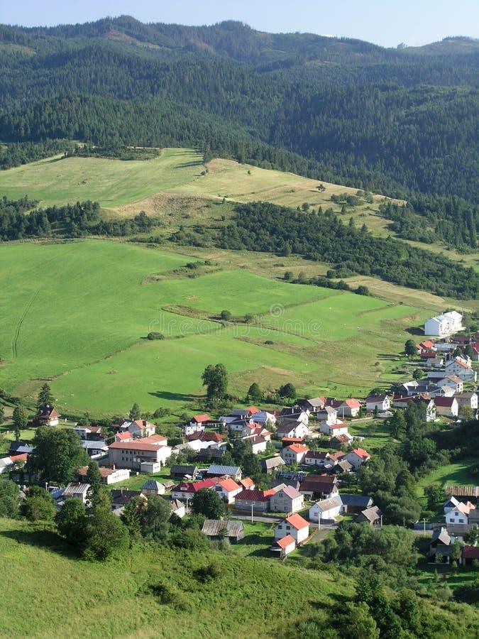 Free Mountain Village Royalty Free Stock Image - 242846