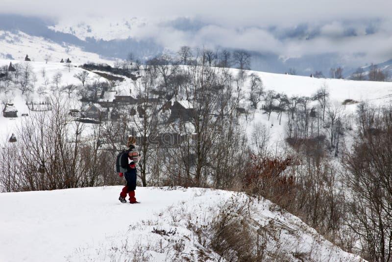 Download Mountain Village In Transylvania Stock Photo - Image: 12884786
