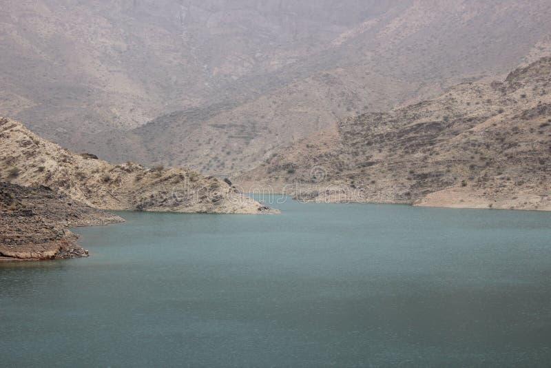 Mountain & Water, Dam, Oasis, spring stock image