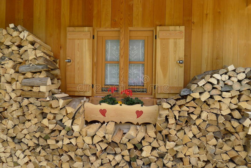 Download A mountain window stock image. Image of stone, alps, tree - 20505387