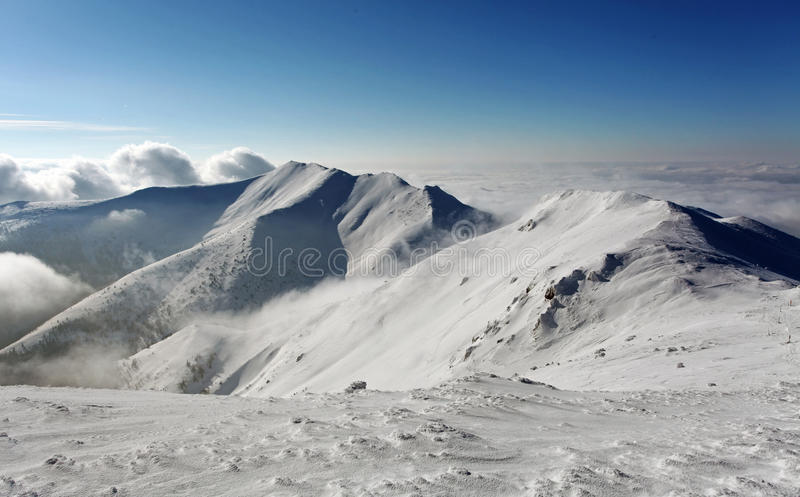Download Mountain In Winter - Slovakia Stock Photography - Image: 35445652