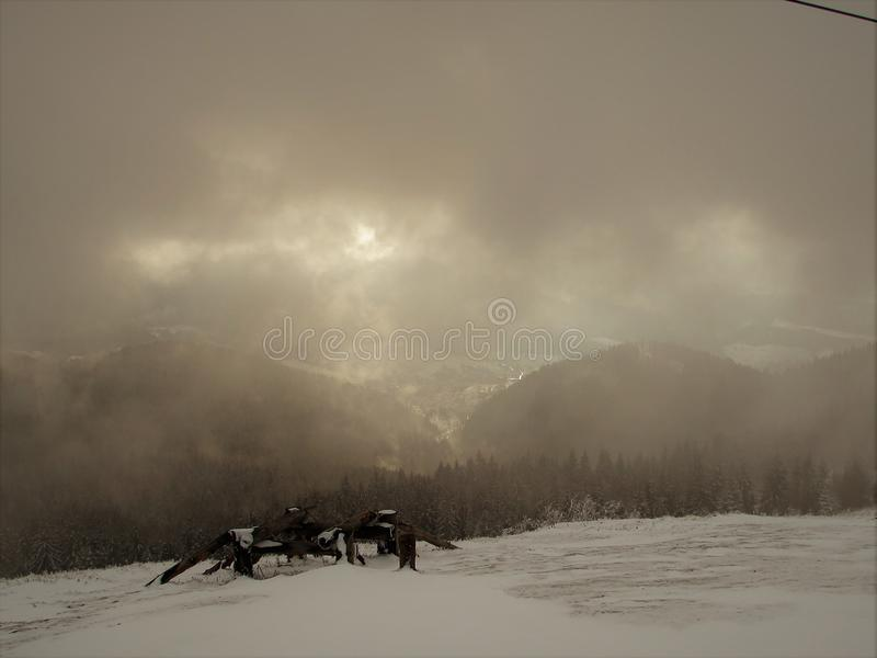 Mountain Zahar Berkut stock photo