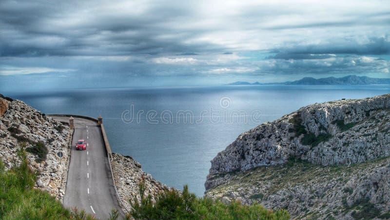 Beatiful scene Palma de Mallorca royalty free stock image