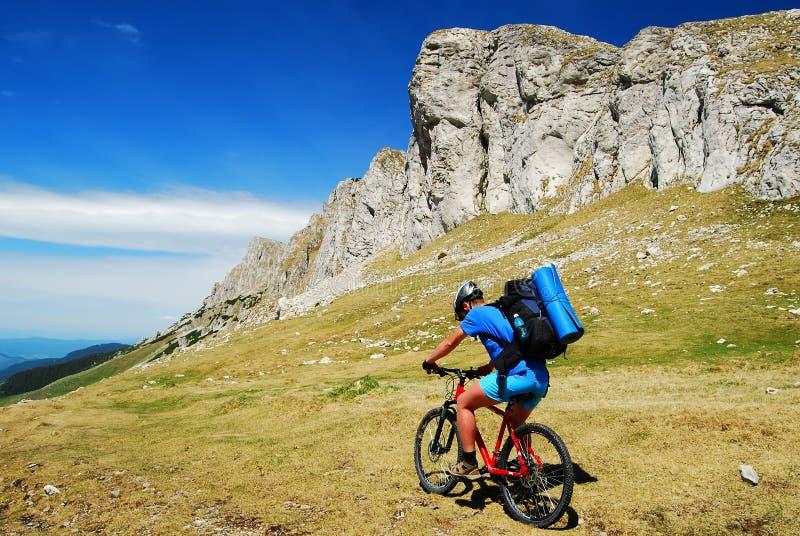 Mountainbike stock afbeeldingen