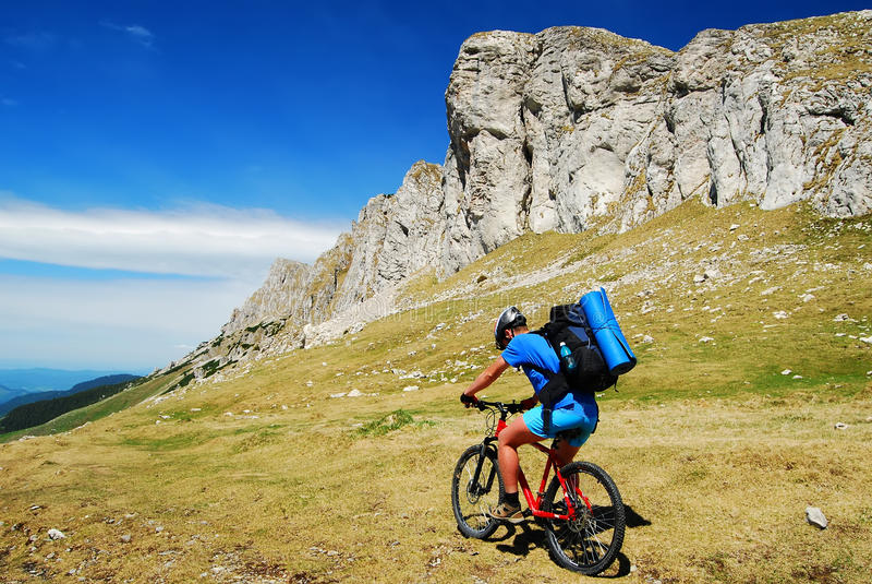 Mountainbike imagens de stock