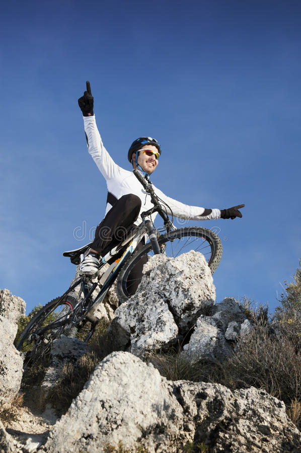 mountainbike στοκ φωτογραφία με δικαίωμα ελεύθερης χρήσης