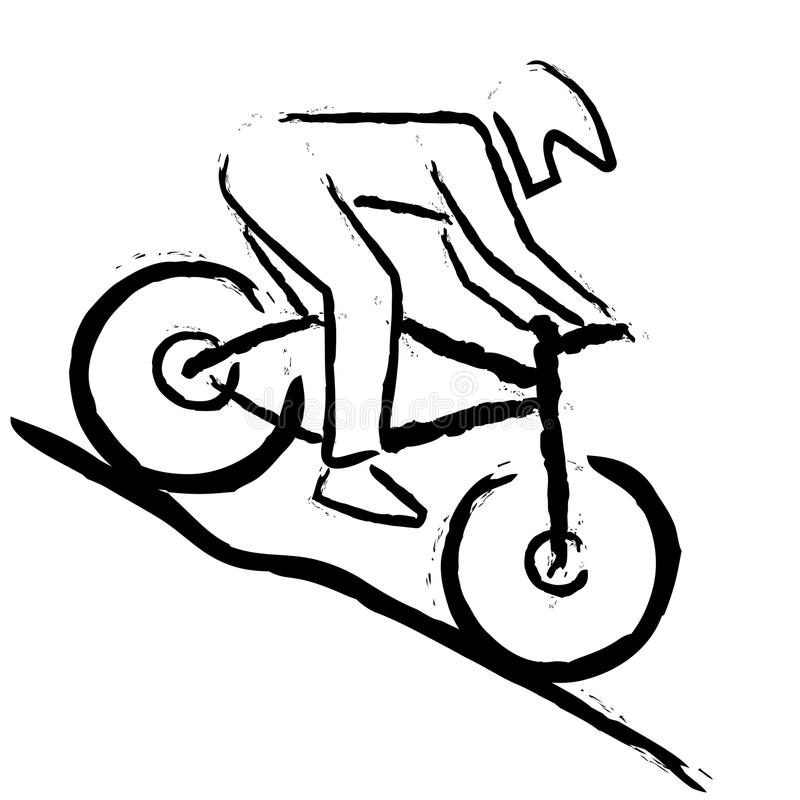 Mountainbike lizenzfreies stockfoto