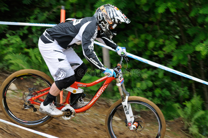 Download Mountainbike Downhill editorial image. Image of bicycle - 20197085