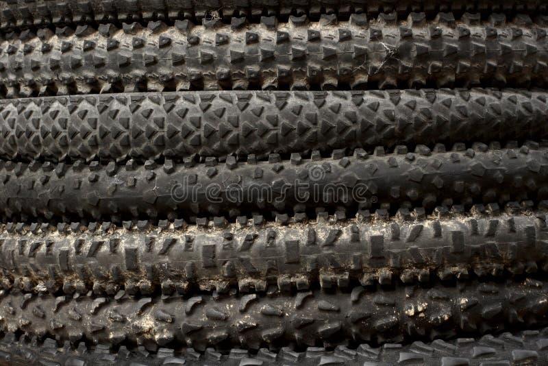 Mountainbike-Reifen stockbilder