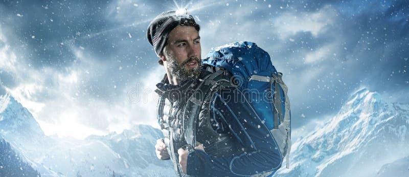mountaineer foto de archivo libre de regalías